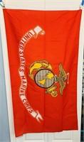 US Marine Corps Flag, 3 ft x 5 ft