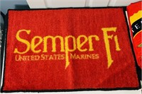 US Marine Corp Bathroom Towels, Rug