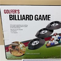 Golfers Billiard Game, Sequence Game
