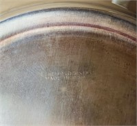 Sheffield Silver Co. Tray and Bowl, plus Pyrex