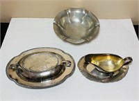 Chippendale Silver co, Reed and Barton Pewter,