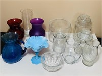 Lot of Glassware