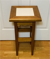 """Plant Stand Table, 13"""" x 13"""" x 24"""" high"""