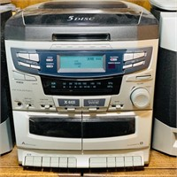 Acoustix Bookshelf Stereo w/remote,CD