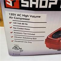 Air Compressor, 120v, by Shop Force