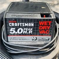 Craftsman 5.0 Wet/Dry Vac