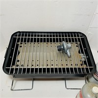 Tabletop Gas Grill, 3 Full Tanks, Complete
