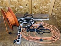 Extension Cords, plus Reel