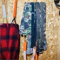 Hunting Pants, Vest, Suspenders