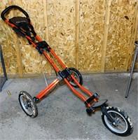 Acuity 3 Wheel Golf Cart, folds up