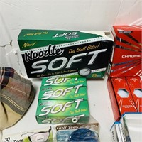 New Golf Balls, Tees, and more Golf stuff