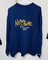 Notre Dame CS Sweat Shirt, Size L