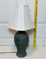 "Lamp , Ceramic? 22"" tall"