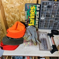 Garage Cabinet (dresser) and all contents