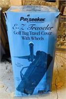 E-Z Traveler, Golf Bag Travel Cover,looks new