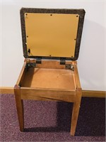 Sewing Stool w/Padded Seat