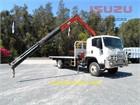 2013 Isuzu FTS 800 4x4 Crane Truck
