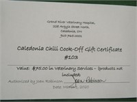 Caledonia Chili Cook Off Charity Auction