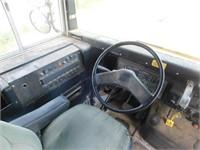 1995 International short bus, Navistar DT466 eng