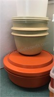 Collection of Vintage Tupperware and Rubbermade