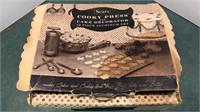 Vintage Sears Cooky Press Set
