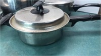 Vintage Aluminum & Stainless Steel  Pots and Pans