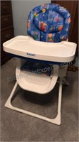 "Kolcraft Childs Adjustable High Chair 39"" Tall as"