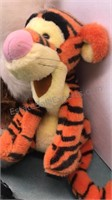 Collection of Stuffed Animals including Tigger