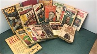 Collection of Vintage Sports Books