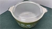 Vintage Spring Blossom Pyrex Covered Dish Set