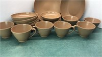 Vintage Lenotex and Lenox-Ware  Cups Bowls and