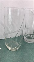 """Collection of Glassware 6"""" Tall and Smaller"""
