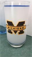 1985 Care Bear Drink Glasses Mobile Gas U-M Glass