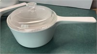 2 Corningware Rangetoppers with Lids and