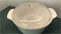 2 Corningware Covered Dishes
