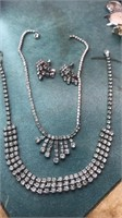 2 Vintage Necklaces and Matching Earrings