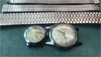 Timex and Gruen Watch Faces and 3 Metal