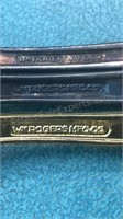 3 Vintage Rogers Mfg Co Presidential Collector