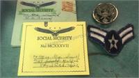 Vintage H Fishlove SOCIAL SECURITY Padlocked Panti
