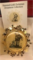 The Hummel Gold Christmas Ornament Collection 32