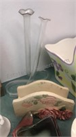 Ceramic Baskets and other collectibles