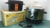 Vintage Sears Deep Fryer and Hamilton Beach Fry
