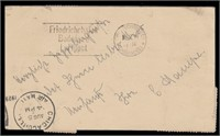 US Stamps 1929 Graf Zeppelin Card US to Germany
