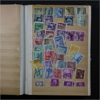 US Stamps 1890s-1970s 1000+ in packed stockbook