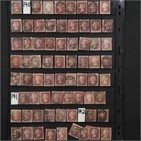 Great Britain #33 Plate 138-142 126 Copies CV $215