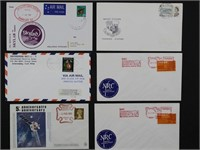 Worldwide Stamps 145+ Covers Rocket Launch & Track