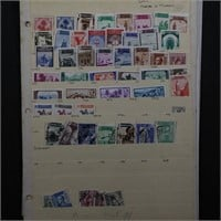 Spain Stamps 375+ mostly Used on Stockpages