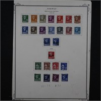 Norway Stamps Used incl #111-135 (CV $72) plus sto