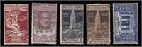Italy Stamps #124-125 Mint HR CV $101