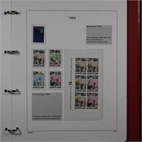Netherlands Stamps UPU Album from 1989